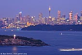 australia stock photography | Sydney City at Dawn, View from North Head, Sydney, NSW, Australia, Image ID AUSY0068.