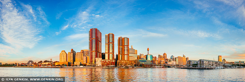 australia stock photography | Barangaroo at Sunset, Sydney, New South Wales, Australia, Image ID AU-SYDNEY-BARANGAROO-0002