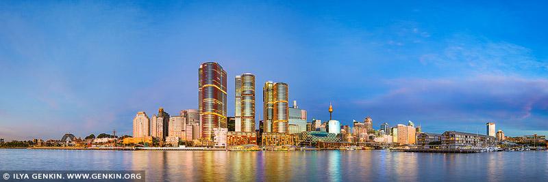 australia stock photography | Barangaroo at Twilight, Sydney, New South Wales, Australia, Image ID AU-SYDNEY-BARANGAROO-0004