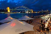 australia stock photography | Dinning at Opera Bar With Harbour Bridge View, Sydney, New South Wales (NSW), Australia, Image ID AU-SYDNEY-HARBOUR-BRIDGE-0010. The Opera Bar is located on the lower concourse at the Sydney Opera House in Sydney, NSW, Australia. It is an incredible location that offers the most amazing views of the Opera House, Harbour Bridge and the city. The views here are stunning, not only the Opera House, and the water, but the whole city skyline leaps up above you, not to mention the bridge in all her glittering glory.
