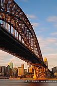 australia stock photography | Sydney Harbour Bridge at Sunrise, Sydney, New South Wales (NSW), Australia, Image ID AU-SYDNEY-HARBOUR-BRIDGE-0016. Stock photography of one of the famous Sydney's icons, Harbour Bridge at Sunrise in Sydney, NSW, Australia.
