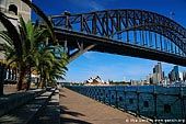 australia stock photography | Harbour Bridge from Luna Park, Sydney, New South Wales, Australia, Image ID AUHB0004.