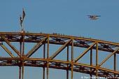 australia stock photography | Bridge Climbers on The Harbour Bridge, Sydney, New South Wales, Australia, Image ID AUHB0006.