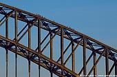 australia stock photography | Bridge Climbers on The Harbour Bridge, Sydney, New South Wales, Australia, Image ID AUHB0007.