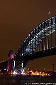 australia stock photography | Sydney Harbour Bridge 75th Anniversary, Sydney, New South Wales, Australia, Image ID AUHB0012.