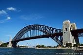 australia stock photography | Sydney Harbour Bridge, Sydney, New South Wales, Australia, Image ID AUHB0018.