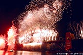 australia stock photography | New Year Eve Fireworks over Sydney Harbour Bridge, View from Kirribilli, Sydney, New South Wales, Australia, Image ID AUHB0025.