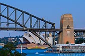 australia stock photography | Sydney City at Dusk, View from Balls Head, Sydney, NSW, Australia, Image ID AUHB0034.