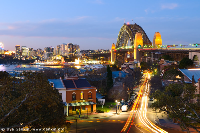 australia stock photography | Sydney Harbour Bridge from Observatory Hill, Sydney, New South Wales (NSW), Australia, Image ID AU-SYDNEY-HARBOUR-BRIDGE-0003