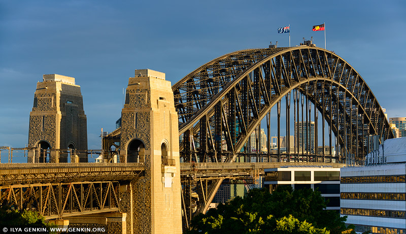 australia stock photography | Sydney Harbour Bridge from Milson's Point, Sydney, New South Wales (NSW), Australia, Image ID AU-SYDNEY-HARBOUR-BRIDGE-0043