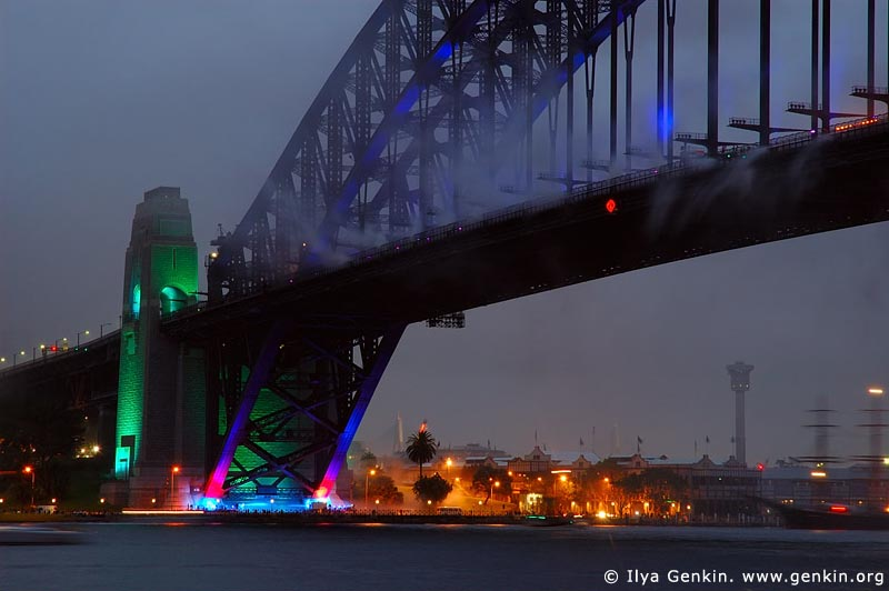 australia stock photography | Sydney Harbour Bridge 75th Anniversary, Sydney, New South Wales, Australia, Image ID AUHB0009