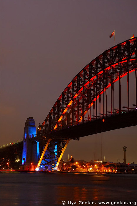 australia stock photography | Sydney Harbour Bridge 75th Anniversary, Sydney, New South Wales, Australia, Image ID AUHB0011