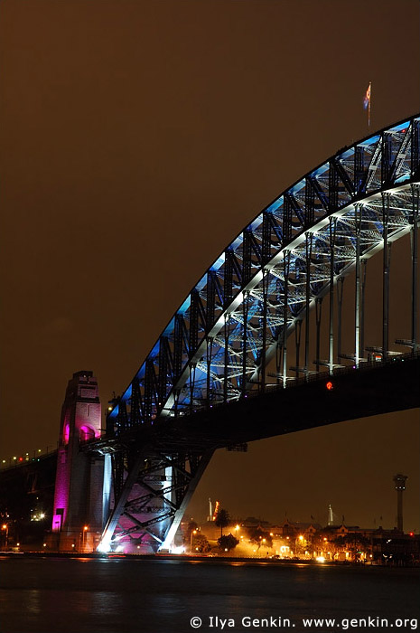 australia stock photography | Sydney Harbour Bridge 75th Anniversary, Sydney, New South Wales, Australia, Image ID AUHB0012