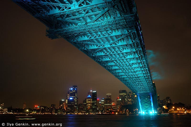 australia stock photography | Sydney Harbour Bridge 75th Anniversary, Sydney, New South Wales, Australia, Image ID AUHB0014