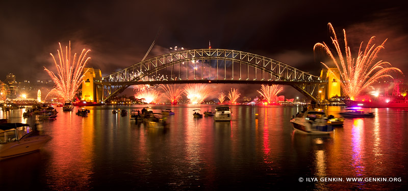 australia stock photography | Fireworks and Lightshow Spectacular at The Royal Australian Navy IFR, View from McMahons Point, Sydney, New South Wales, Australia