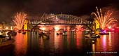 australia stock photography | Fireworks and Lightshow Spectacular at The Royal Australian Navy IFR, View from McMahons Point, Sydney, New South Wales, Australia, Image ID NAVY-IFR-FIREWORKS-0003.