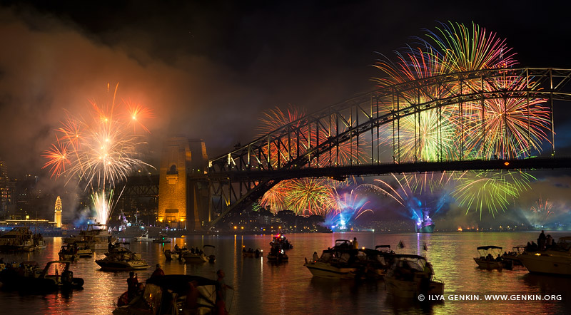 australia stock photography | The Royal Australian Navy IFR Fireworks, View from McMahons Point, Sydney, New South Wales, Australia