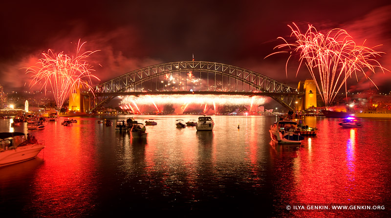 australia stock photography | The Royal Australian Navy International Fleet Review Fireworks, View from McMahons Point, Sydney, New South Wales, Australia, Image ID NAVY-IFR-FIREWORKS-0005
