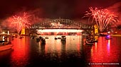 australia stock photography | The Royal Australian Navy International Fleet Review Fireworks, View from McMahons Point, Sydney, New South Wales, Australia, Image ID NAVY-IFR-FIREWORKS-0005.