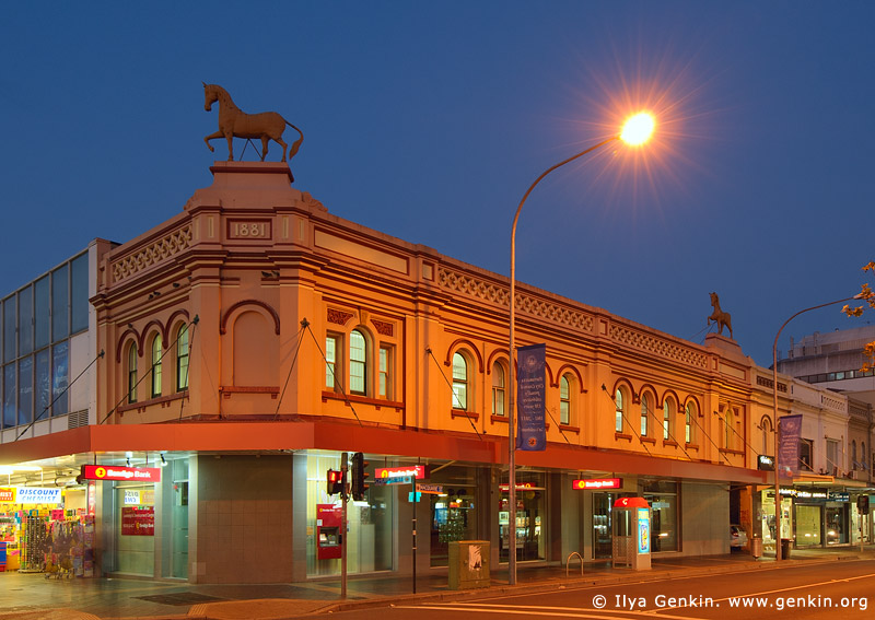 australia stock photography | Bendigo Bank Building at Bicentennial Square (Centenary Square), Parramatta, Sydney, NSW, Australia, Image ID AU-SYDNEY-PARRAMATTA-0003