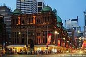 australia stock photography | Queen Victoria Building (QVB) at Dusk, Sydney, New South Wales (NSW), Australia, Image ID AU-SYDNEY-QVB-0001.
