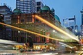 australia stock photography | Queen Victoria Building (QVB) at Dusk, Sydney, New South Wales (NSW), Australia, Image ID AU-SYDNEY-QVB-0003.