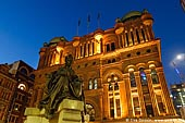australia stock photography | Queen Victoria Building (QVB) at Dusk, Sydney, New South Wales (NSW), Australia, Image ID AU-SYDNEY-QVB-0007.