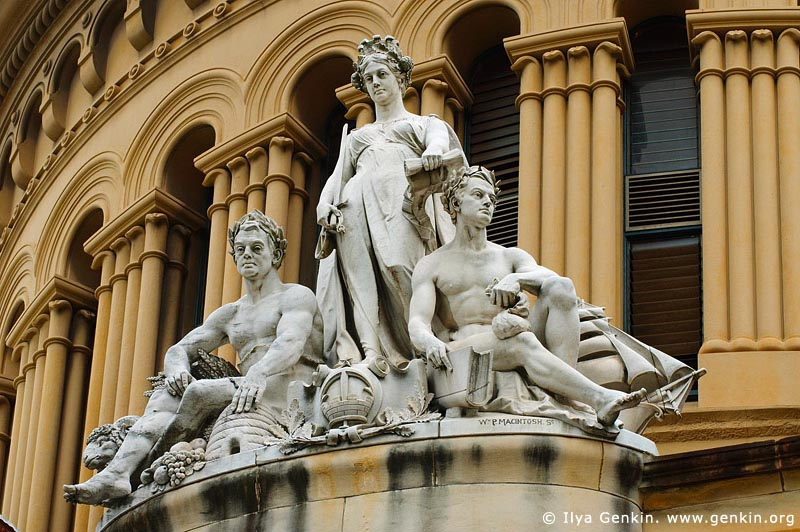 australia stock photography | Queen Victoria Building (QVB) Architecture Details, Sydney, New South Wales (NSW), Australia, Image ID AU-SYDNEY-QVB-0009