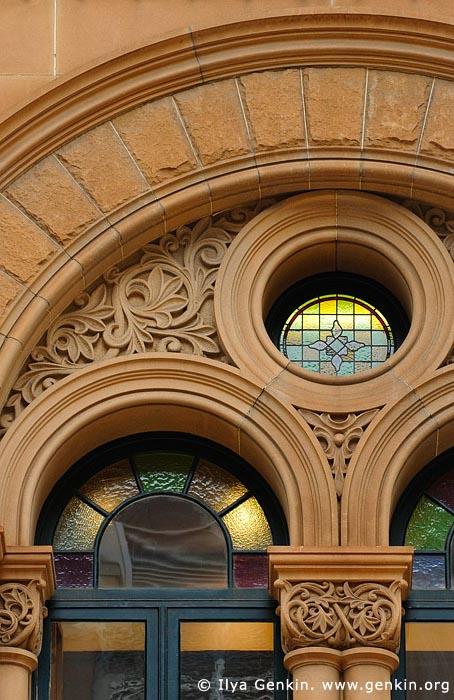 australia stock photography | Queen Victoria Building (QVB) Architecture Details, Sydney, New South Wales (NSW), Australia, Image ID AU-SYDNEY-QVB-0011