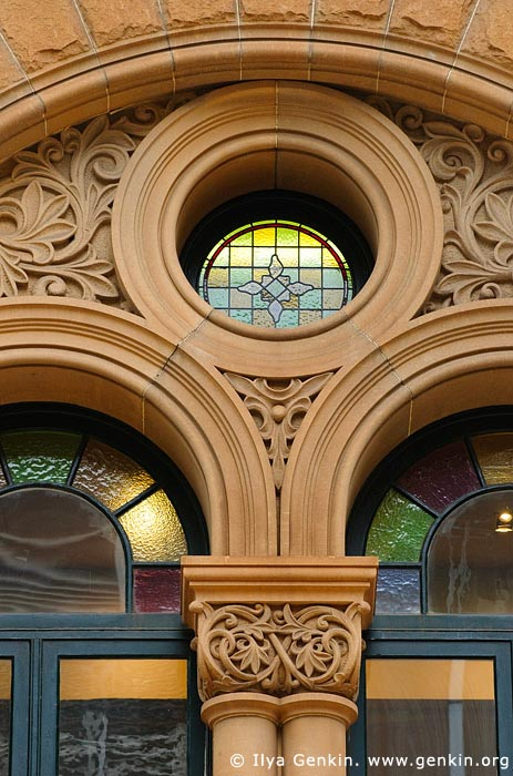 australia stock photography | Queen Victoria Building (QVB) Architecture Details, Sydney, New South Wales (NSW), Australia, Image ID AU-SYDNEY-QVB-0012
