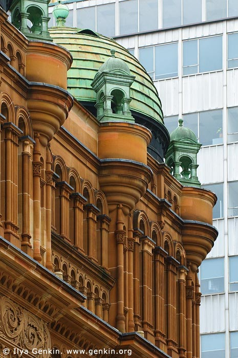 australia stock photography | Queen Victoria Building (QVB) Architecture Details, Sydney, New South Wales (NSW), Australia, Image ID AU-SYDNEY-QVB-0019