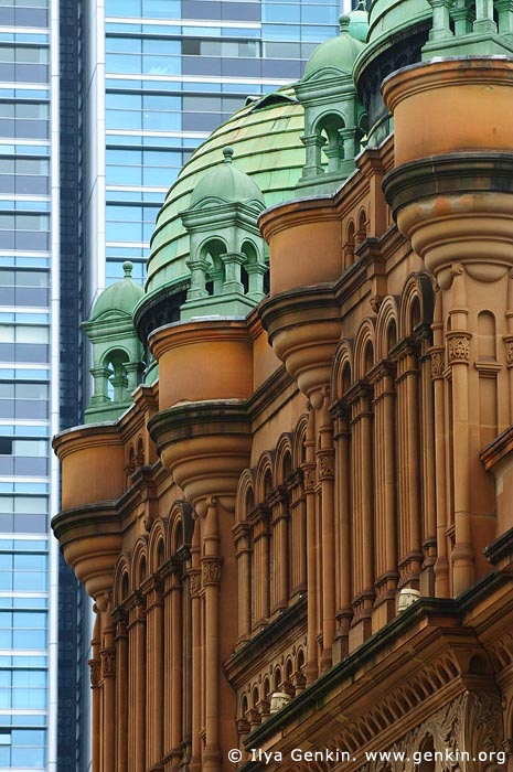 australia stock photography | Queen Victoria Building (QVB) Architecture Details, Sydney, New South Wales (NSW), Australia, Image ID AU-SYDNEY-QVB-0020