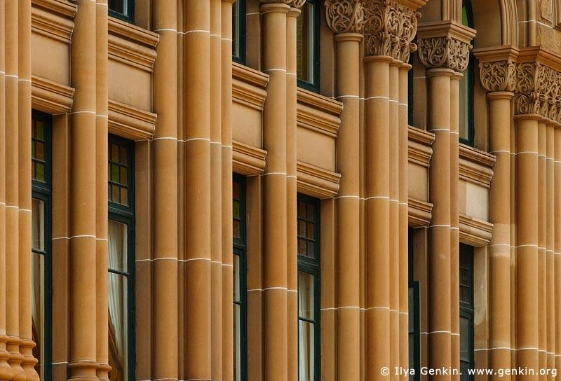 australia stock photography   Queen Victoria Building (QVB) Architecture Details, Sydney, New South Wales (NSW), Australia, Image ID AU-SYDNEY-QVB-0021