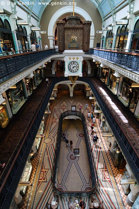 australia stock photography | Interior of the Queen Victoria Building (QVB), Sydney, New South Wales (NSW), Australia, Image ID AU-SYDNEY-QVB-0026