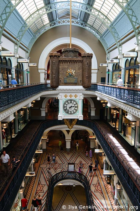 australia stock photography | Interior of the Queen Victoria Building (QVB), Sydney, New South Wales (NSW), Australia, Image ID AU-SYDNEY-QVB-0027