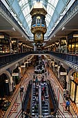 australia stock photography | Great Australia Clock at QVB, Interior of the Queen Victoria Building (QVB), Sydney, New South Wales (NSW), Australia, Image ID AU-SYDNEY-QVB-0031.