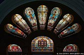 australia stock photography | Stained Glass Windows at QVB, Interior of the Queen Victoria Building (QVB), Sydney, New South Wales (NSW), Australia, Image ID AU-SYDNEY-QVB-0033.