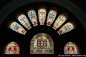 australia stock photography | Stained Glass Windows at QVB, Interior of the Queen Victoria Building (QVB), Sydney, New South Wales (NSW), Australia, Image ID AU-SYDNEY-QVB-0034.