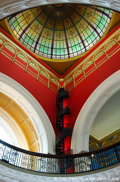australia stock photography | Interior of the Queen Victoria Building (QVB), Sydney, New South Wales (NSW), Australia, Image ID AU-SYDNEY-QVB-0039