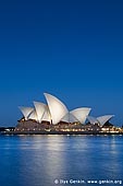 australia stock photography | Sydney Opera House at Night, Sydney, NSW, Australia, Image ID AU-SYDNEY-OPERA-HOUSE-0005. Sydney Opera House in Sydney, NSW, Australia is magnificent when illuminated by lights against night blue sky.