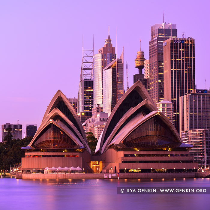 australia stock photography | Opera House and Sydney City at Dawn, Kirribilli, Sydney, New South Wales (NSW), Australia, Image ID AU-SYDNEY-OPERA-HOUSE-0018