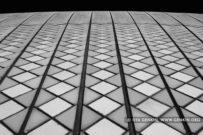 australia stock photography | Roof Tiles of Sydney Opera House, Sydney, NSW, Australia