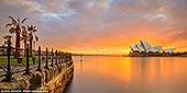 australia stock photography | Beautiful and Dramatic Sunrise Over Sydney Opera House, Sydney, NSW, Australia, Image ID AU-SYDNEY-OPERA-HOUSE-0033. Panoramic fine art photo of the beautiful and dramatic sunrise over The Opera House in Sydney, NSW, Australia.