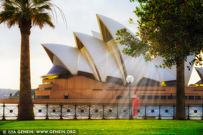 australia stock photography | Sydney Opera House on a Beautiful Bright Morning, Sydney, New South Wales (NSW), Australia, Image ID AU-SYDNEY-OPERA-HOUSE-0041