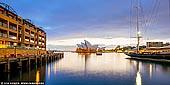 australia stock photography | Sydney Opera House at Sunrise, Sydney, NSW, Australia, Image ID AU-SYDNEY-OPERA-HOUSE-0045. Panoramic image of the Opera House in Sydney, NSW, Australia on a stormy morning from Park Hyatt Sydney hotel.