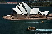 australia stock photography | Sydney Opera House. Aerial View., Sydney, NSW, Australia, Image ID AUOH0007.