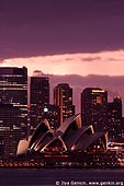 australia stock photography | The Sydney Opera House at Dusk, View from Cremorne Point, Sydney, NSW, Australia, Image ID AUOH0009.