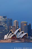 australia stock photography | The Sydney Opera House at Dawn, View from Cremorne Point, Sydney, NSW, Australia, Image ID AUOH0015.