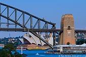 australia stock photography | Sydney City at Dusk, View from Balls Head, Sydney, NSW, Australia, Image ID AUOH0018.