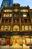 australia stock photography | The Strand Arcade after Sunset, Sydney, New South Wales (NSW), Australia, Image ID STRAND-ARCADE-0001.